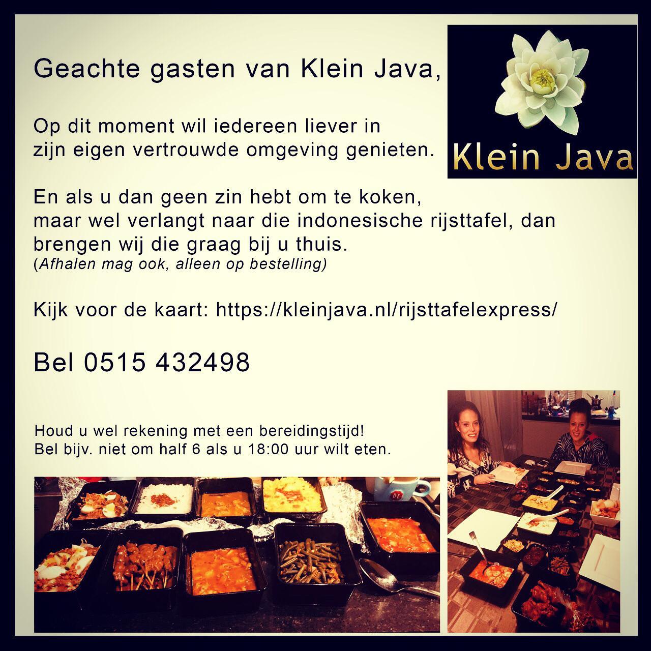 Rijsttafelexpress Klein Java Sneek